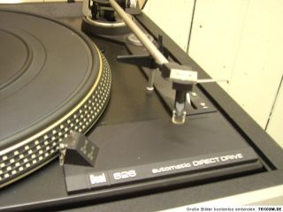Dual CS 626 direct drive Plattenspieler silber Sammler CS626 Turntable