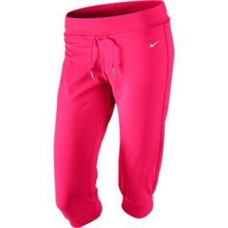 Original Nike Damen Jersey Capri Fitness Capri Hose pink