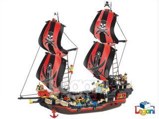 SLUBAN   B 0129 Piraten Schiff Black Pearl 632 Teile NEU,OVP