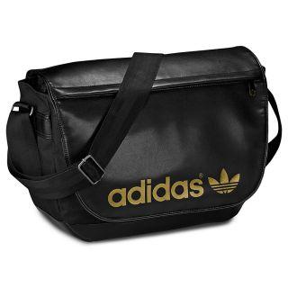 Adidas Adicolor Messenger Tasche Schwarz Gold Schultertasche Originals