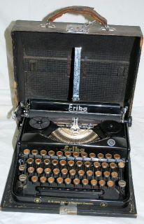 L639/ Reise Schreibmaschine ERIKA No.5 vorm. Seidel & Naumann Dresden