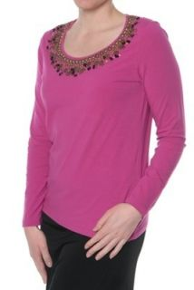 NEU KLINGEL Langarmshirt longsleeve shirt fuchsia