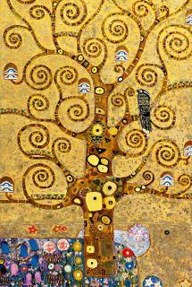 Fototapete TREE OF LIFE 115x175 Gustav Klimt, Baum des Lebens, Giant
