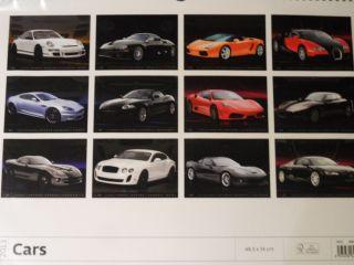 Fahrzeug Kalender 2013  Cars  Luxus Autos / Autokalender 34x48,5 cm