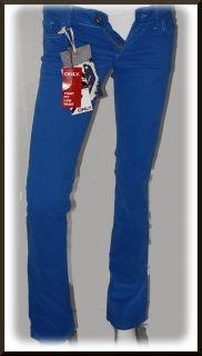 pantalone ONLY donna *PRINCE SLIM TILDA azzurro W26 L34