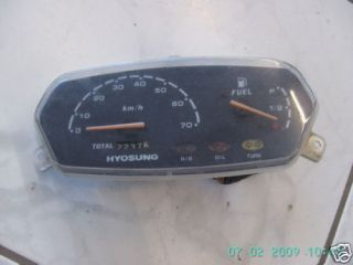 Hyosung Cab50 Cab 50 Roller HMD 50 Tacho Instrumente