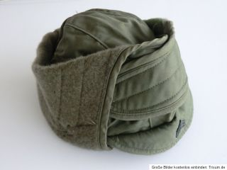 US ARMY VIETNAM 1974 ORIGINAL   CAP COLD WEATHER INSULATING   SERGEANT
