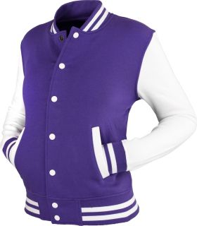 Urban Classics  Ladies 2 tone College Sweatjacket Varsity Football