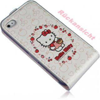Hello Kitty Tasche für Iphone 4 4S Vertikal tasche Handy tasche Flip