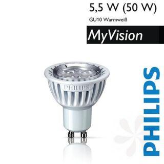 Philips MyVision LED Reflektor GU10   5,5W (50W)   2.700K