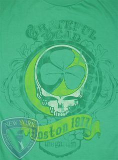 GRATEFUL DEAD T SHIRT BOSTON 1977 JERRY GARCIA XL