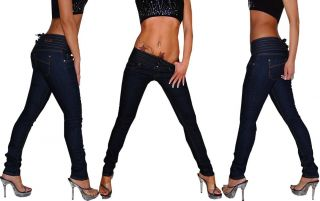 Miss Anna Röhrenjeans Röhren Jeans Corsage XS34   XL 42