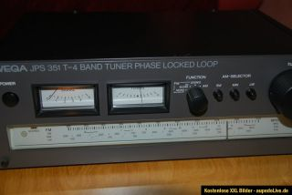 Wega JPS 351 T 4 Hifi Tuner Radio Receiver High End Rarität