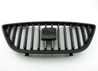 SEAT Ibiza 6J Frontgrill Grill Kühlergrill original 3M Carbon Look II