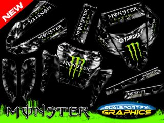 YAMAHA XT 660 R MONSTER REPLICA TRIM DEKOR, DECO, ADESIVI, DECAL by