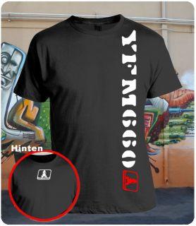 Motocross MX   Quad T Shirt Schwarz Gr. S M L XL XXL