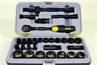 Stanley FatMax 94 662 Steckschlüsselsatz 1/2 30 Tlg. Knarrenkasten