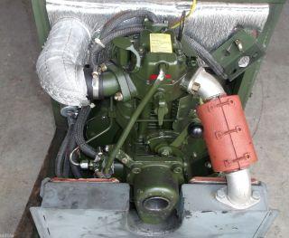 HATZ Diesel   Motor ; E 673 LHK ; 3KW ; 3000 U/min ; BW Stromaggregat