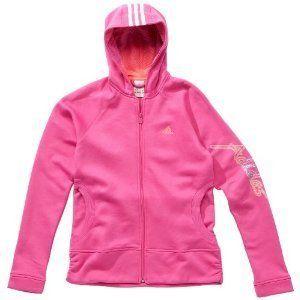Adidas Mädchen Kinderpullover, neu, Rosa, YG BQ FZ Hoody, versch
