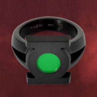 Green Lantern Edelstahl Ring, DC Comics Schmuck, Green Lantern Logo