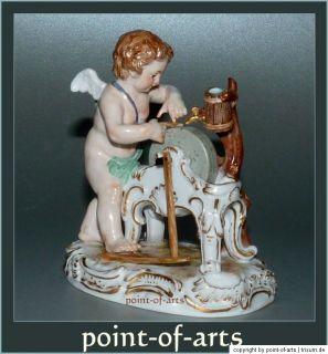 Meissen Porzellan Figur Amor C62 A. Ringler cherub Amor porcelain