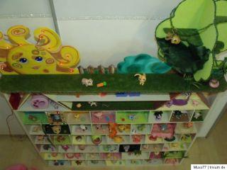 Littlest Pet Shop Tiere Wackeltierchen XXL Sammlung Haus Unikat