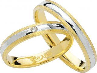 Eheringe Verlobungsringe Trauringe 333er 8kt Gold mit Brillant alle