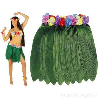 BANANENBLATT ROCK Suedsee Karibik Sommer Strand Hawaii Hula Motto