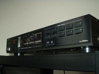Sony ST S700ES High End Tuner der ESPRIT Serie