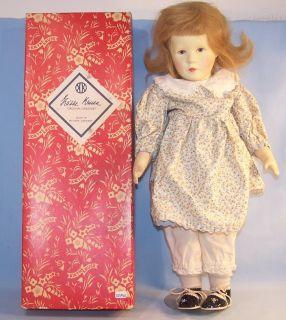 Käthe Kruse 9 688 große Mädchen Puppen, 50er Original im OK (22743