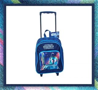 Kinder Trolley Star Wars Koffer Reise Schule NEU