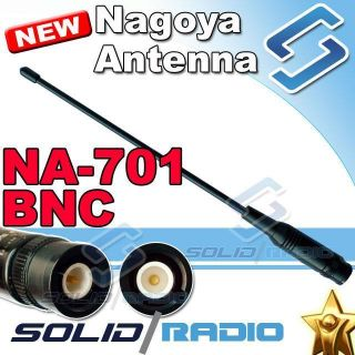 NAGOYA NA 701 BNC VHF + UHF Antenna for Ham Radio Dual Band