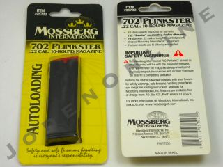 Mossberg Intl 702 Plinkster 22 Long Rifle 10 Round Magazine TACTICAL