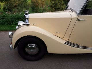 1952 TRIUMPH RENOWN 2.0   HUGE HISTORY FILE  LONG MOT & TAX  WEDDING