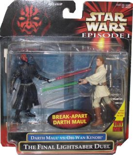 Star Wars Darth Maul vs. Obi Wan Kenobi *NEU*