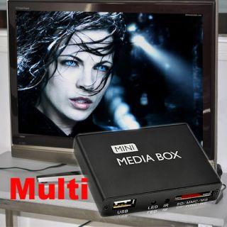 Mini TV Multi Media MediaPlayer Player Box HDMI HD/HDD/SD/MMC USB 720p