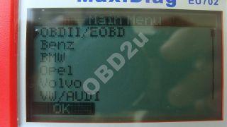 Autel EU 702 Diagnose gerät VAG BMW Mercedes Opel Ford Audi KFZ OBD 2