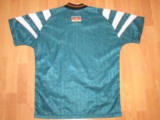 Adidas Deutschland Trikot Jersey DFB EM 1996 96 Grün T Shirt Maglia