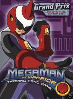 Megaman NT Warrior Grand Prix Starter Deck Protoman