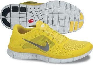 Nike Free Run+ 3 für Herren, Artikel 510642 706, Farbe gelb