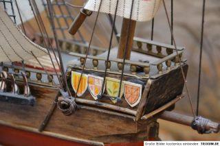 MODELLSCHIFF, SEGELSCHIFF Carabela Sta. Maria Ano 1492 Holzschiff