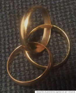 "18 Karat * 750er Gold * tricolor * Ring Cartier Trinity ""Spielring"