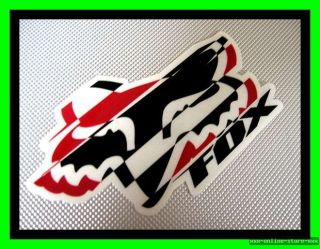 Original Fox Racing Aufkleber Sticker Motocross BMX MTB