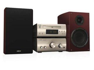Akai AMD75 High End Mikro System; Radio/ DVD Spieler mit USB, DivX, 2