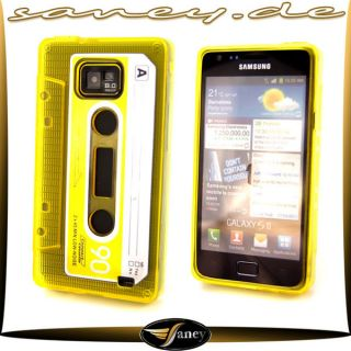 Samsung i9100 Galaxy S2 Silikon Schutz Hülle Case Cover Tasche Schale