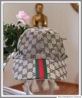 Edle Gucci Cap   Logostoff   Original GUCCI   Cap