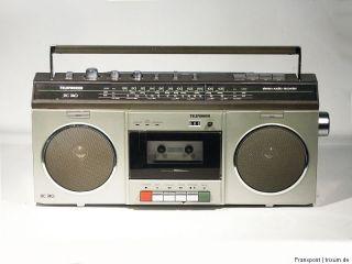 TELEFUNKEN RC740 STEREO RADIORECORDER GHETTOBLASTER BOOMBOX RADIO