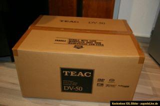 Teac DV 50 High End SACD/CD/DVD Multi Player Gebraucht Wie Neu OVP