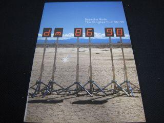 Depeche Mode Singles 86 98 World Tour Tour Book Concert Program Synth