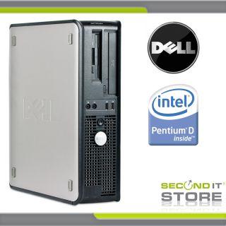 Dell OptiPlex 745 Desktop Intel Pentium D 2 x 3 0 GHz 2 GB RAM 80 GB